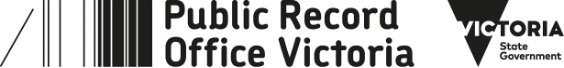 public record offcie Vic state gvt